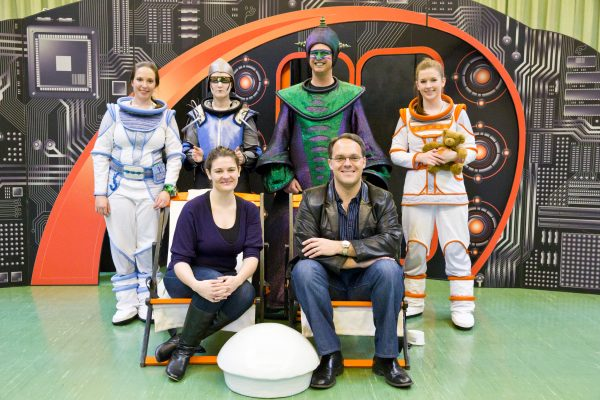 The cast of Space Encounters