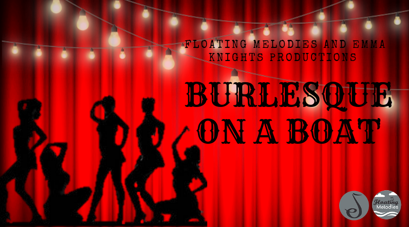 Burlesque on a Boat Graphic
